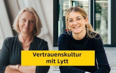 Mit dem digitalen Assistenten von Lytt eine Vertrauenskultur schaffen.
