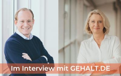 Wie funktioniert GEHALT.DE und der individuelle Gehaltscheck?