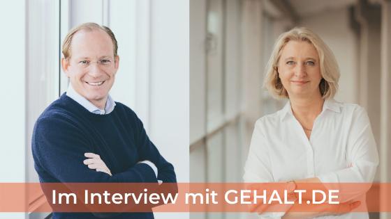 """Wie funktioniert GEHALT.DE - Interview Dr. Philip Bierbach und Karin Schwaer von GEHALTSSPRUNG für """"Sie""""!"""