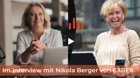 "Headhunter Nikola Berger und der ""Exrex-Kandidaten-Podcast"" – ein Video-Interview."